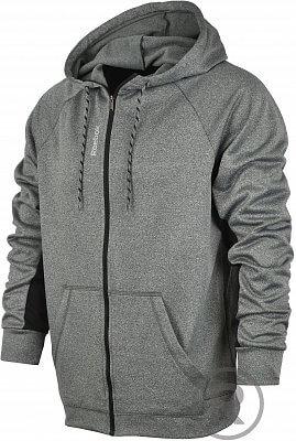 Pánská fitness mikina Reebok Workout Ready Poly Fleece Full Zip