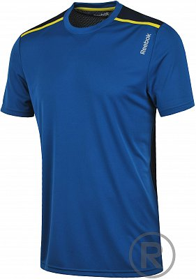 Pánské fitness tričko Reebok Workout Ready Poly Tech Top