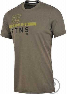 Pánské fitness tričko Reebok Workout Ready Fitness Graphic Tee