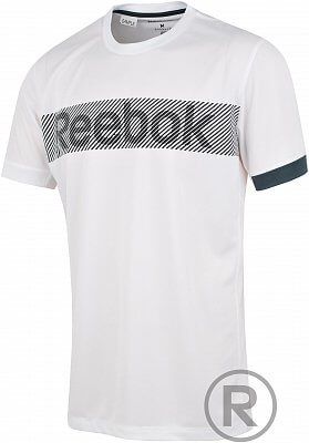 Reebok Sport Essentials Commercial Graphic Tech Top
