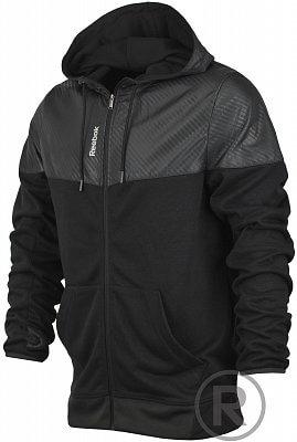 Pánská sportovní bunda Reebok Sport Essentials Fabric Mix Full Zip