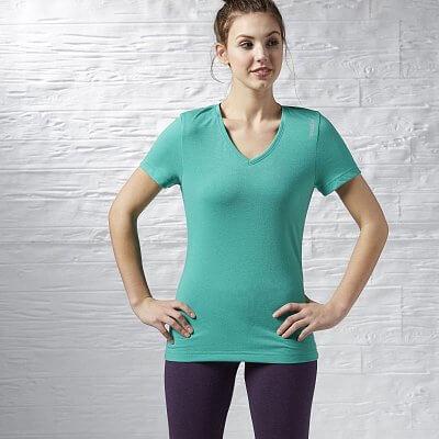 Dámské fitness tričko Reebok Workout Ready Supremium Tee