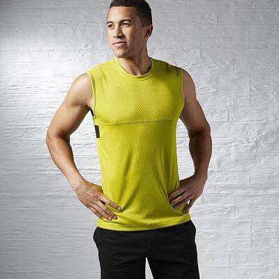 Pánské fitness tílko Reebok Sport Essentials Com Sleeveless Tech Top