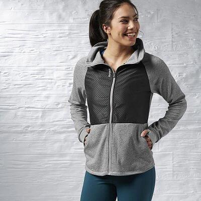 Dámská sportovní bunda Reebok Sport Essentials FT Woven Track Jacket