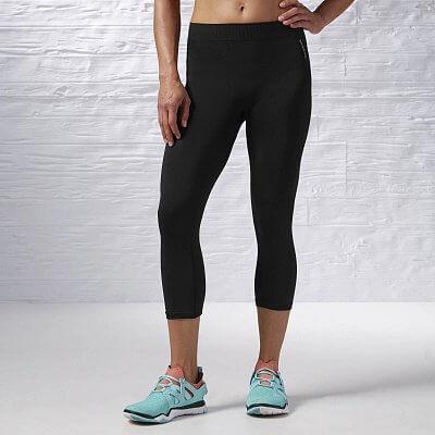 Dámské fitness kalhoty Reebok Sport Essentials Seamless Capri
