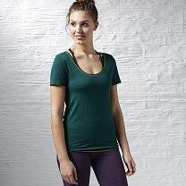 Reebok Sport Essentials Seamless Short Sleeve Top