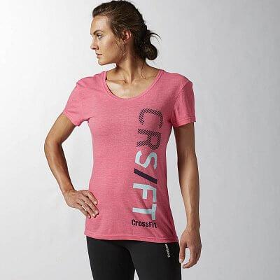 Dámské fitness tričko Reebok CF Graphic Tee 321GO