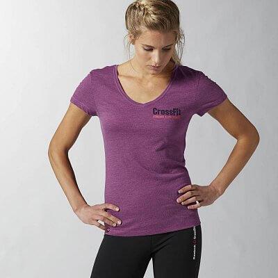 Dámské fitness tričko Reebok CF Graphic Tee Read