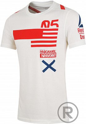 Pánské fitness tričko Reebok RCF SS Triblend GRAP1