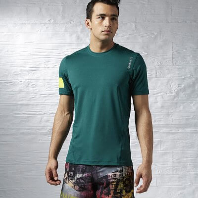 Pánské fitness tričko Reebok One Series Advantage Stretch SS Top