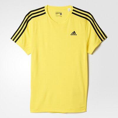 Pánské běžecké tričko adidas Sport Essentials 3S Tee