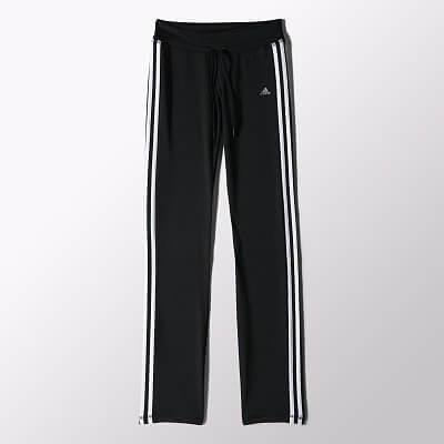 Dámské běžecké kalhoty adidas Clima 3S Ess Straight Pant