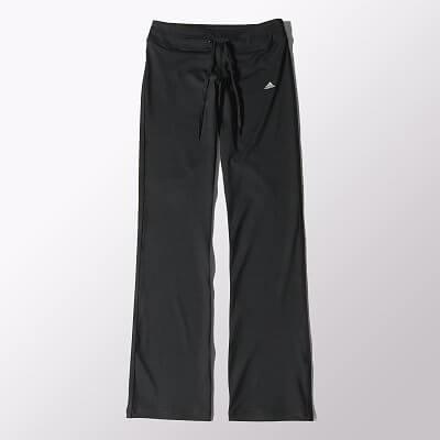 Dámské běžecké kalhoty adidas Gym Basics Straight Pant