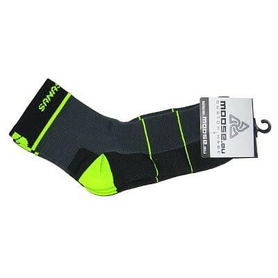 Sportovní ponožky Moose Emotion Yellow