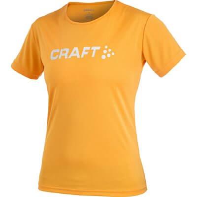 Trička Craft W Triko AR oranžová