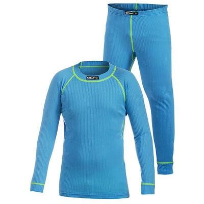 Spodní prádlo Craft Set Active 2-pack světle modrá