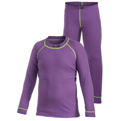 Spodní prádlo Craft Set Active 2-pack fialová