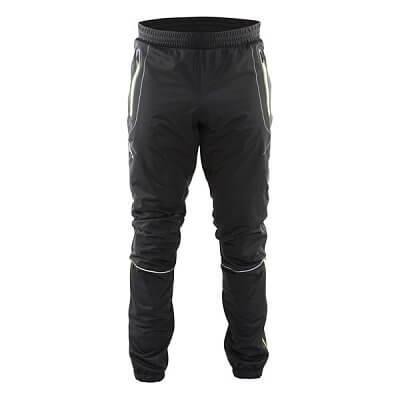 Kalhoty Craft Kalhoty High Function černá se žlutou