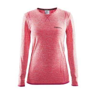 Trička Craft W Triko Active Comfort LS růžová