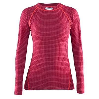 Trička Craft W Triko Warm Wool červená