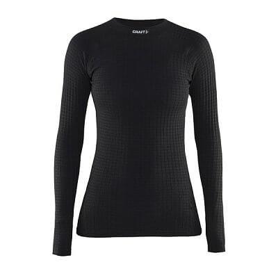 Trička Craft W Triko Warm Wool černá