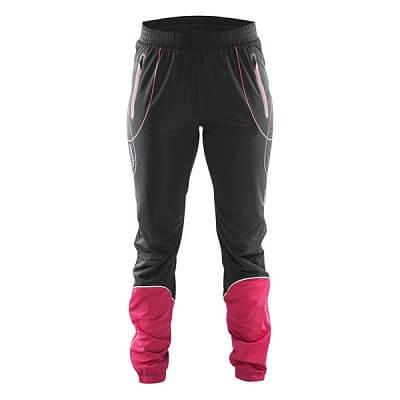 Kalhoty Craft W Kalhoty High Function černá s červenou