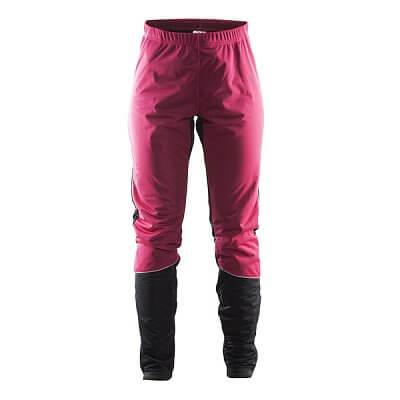 Kalhoty Craft W Kalhoty Storm červená
