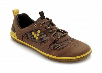 Pánská vycházková obuv Vivobarefoot Aqua 2 M Leather Tobacco/Orange