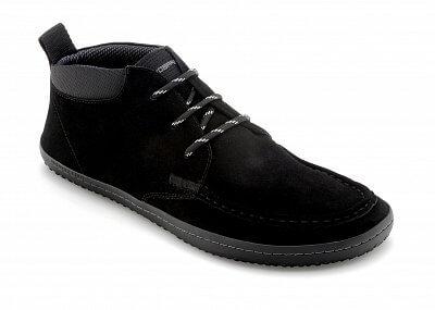 Pánská vycházková obuv Vivobarefoot DRAKE M Suede Black
