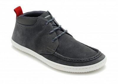 Pánská vycházková obuv Vivobarefoot Drake M Suede Grey