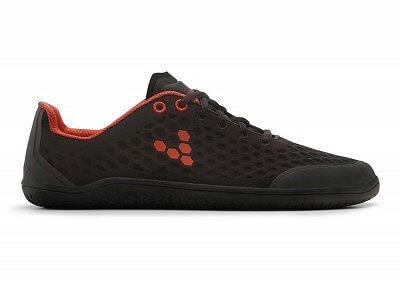 Pánské běžecké boty Vivobarefoot Stealth 2 M Mesh Black/Red