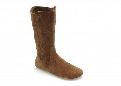 Dámská vycházková obuv Vivobarefoot ELLA L Suede Camel