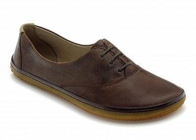 Dámská vycházková obuv Vivobarefoot JOY L Leather Dk Brown