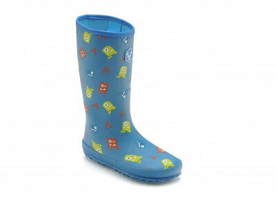 Dětská vycházková obuv Vivobarefoot WATERLOO K Monster Print