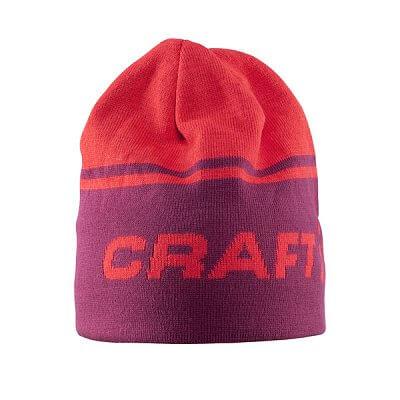 Čepice Craft Čepice Logo červená