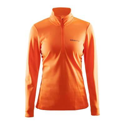 Trička Craft W Polorolák Swift oranžová