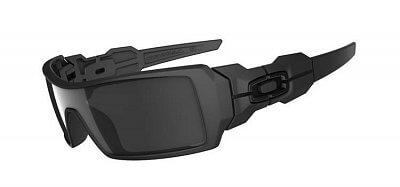 Sluneční brýle Oakley Oil Rig Matte Black W/Black Iridium