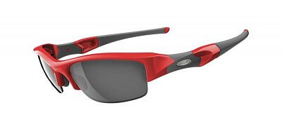 Oakley Flak Jacket Infrared/ Black Iridium