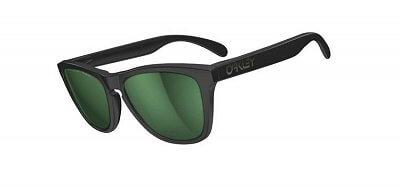 Sluneční brýle Oakley Frogskin Matte Black Emerald IridPolar