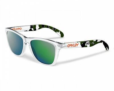 Sluneční brýle Oakley Koston Frogskins ClearCamow/EmrldIrd