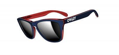 Sluneční brýle Oakley Frogskin Lx Navy/ Chrome Iridium
