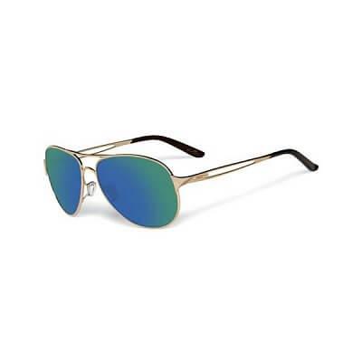 Sluneční brýle Oakley Caveat Poished Gold/ Jade Iridium