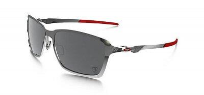 Sluneční brýle Oakley TinCan Black Chrome w/Black Irid Plrzd
