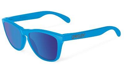 Sluneční brýle Oakley Frogskins Matte Sky W/Sapphire Irid