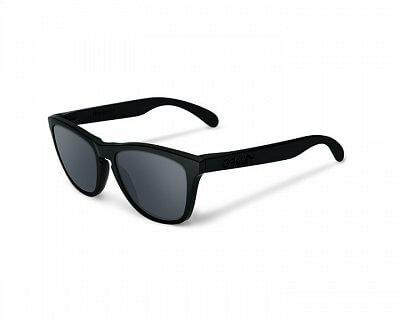 Sluneční brýle Oakley Frogskins Covert Matte Blk w/Blk Irid