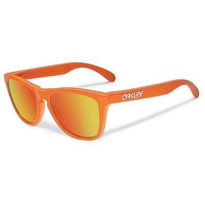 Sluneční brýle Oakley FrogskinsFingerprintAtomicOrangew/FireIr