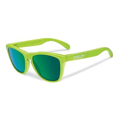 Sluneční brýle Oakley Frogskins FP Retina Burn w/Jade Iridium