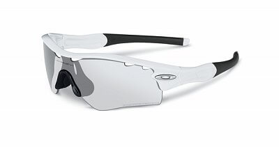Oakley Radar Path  MatteWhtw/ClearBlkIrdPhoto