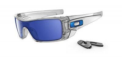 Sluneční brýle Oakley Batwolf Polished Clear W/ Ice Iridium
