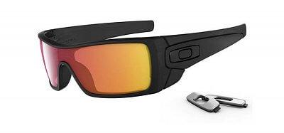 Sluneční brýle Oakley Batwolf Matte Black Ink w/Ruby Irid